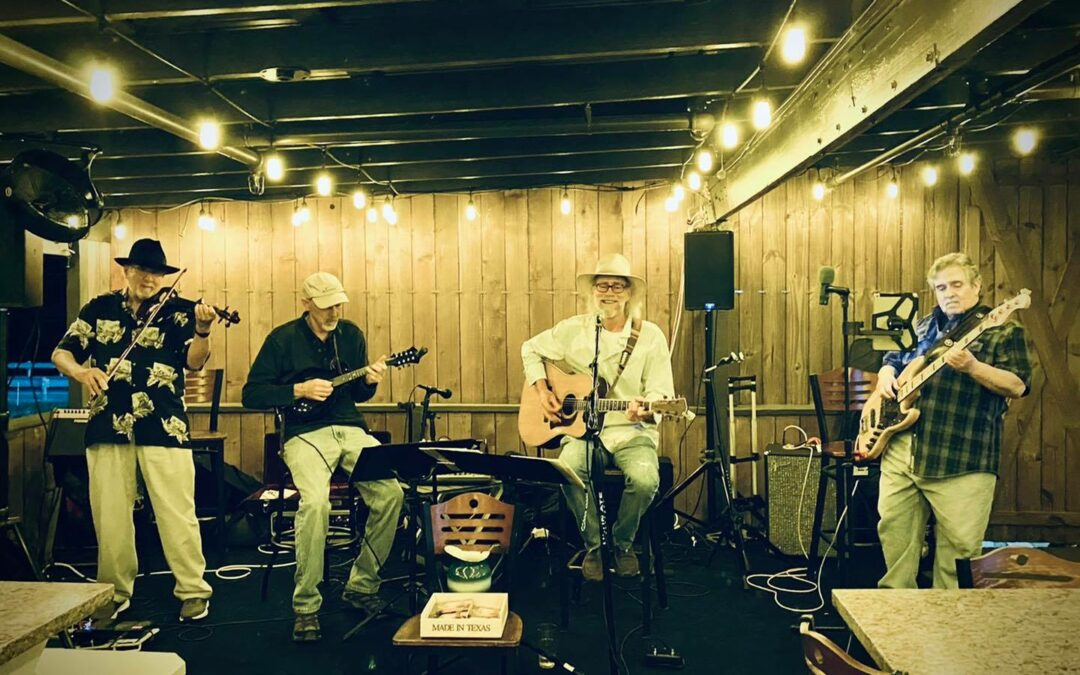 The Dave Becker Band Performs Live On Lake Conroe Friday May 21